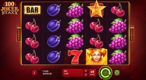 100 Joker Staxx Casino Slots
