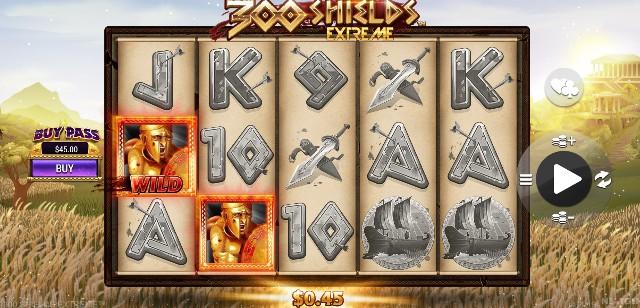 300 Shields Extreme slots casino