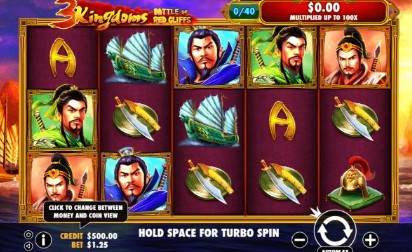 3 Kingdoms - Battle of Red Cliffs Casino Slots