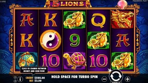 5 Lions Casino Slots