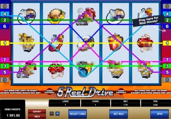 5 Reel Drive Casino Slots