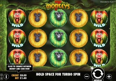 7 Monkeys Casino Slots