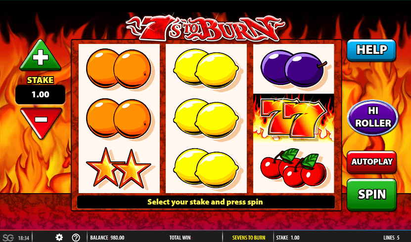 7s to burn Casino Slots