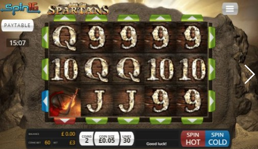 Age of Spartans Spin16 Casino Slots