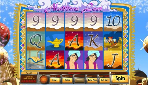 Aladdin's Loot Slot