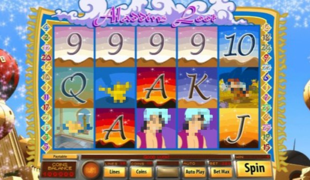 Aladdins Loot Casino Slots