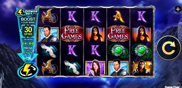 Amulet and the Charm Power Bet Casino Slots
