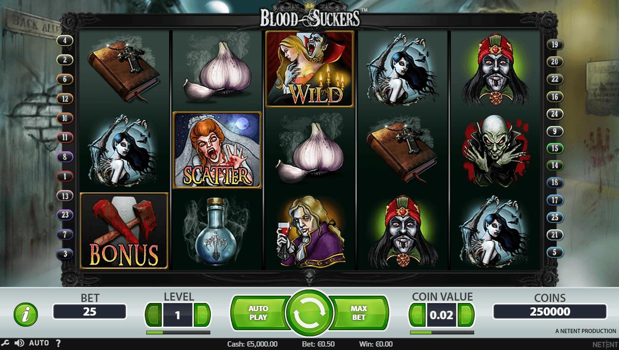 Blood Suckers Casino Slots