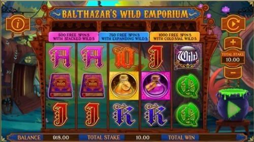 Balthazar's Wild Emporium Casino Slots