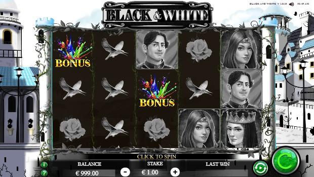 Black and White Casino Slots