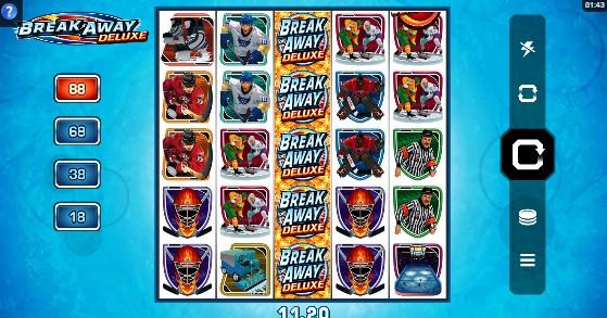 Break Away Deluxe Casino Slots