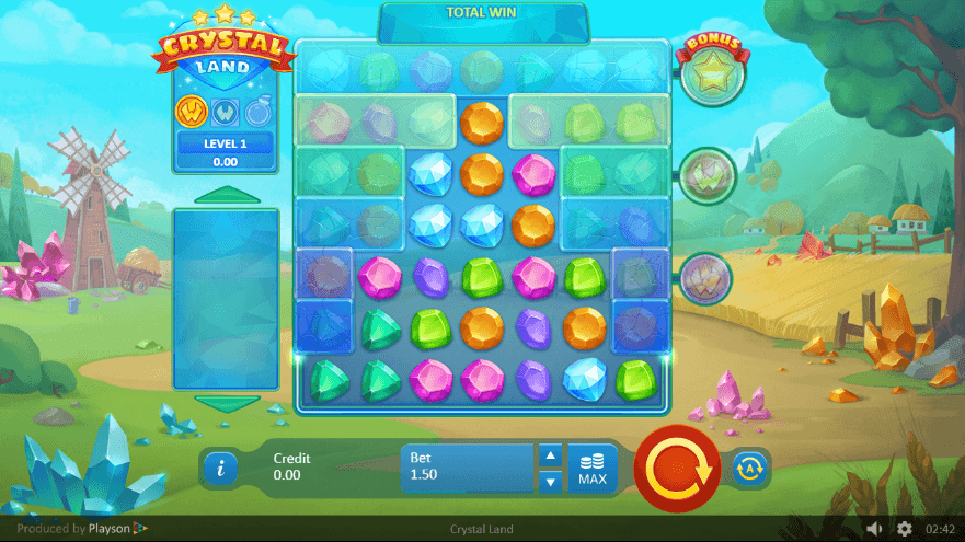 Crystal Land Casino Slots