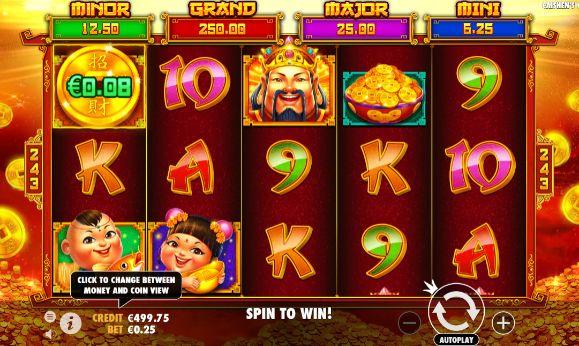Caishen's Cash slots casino