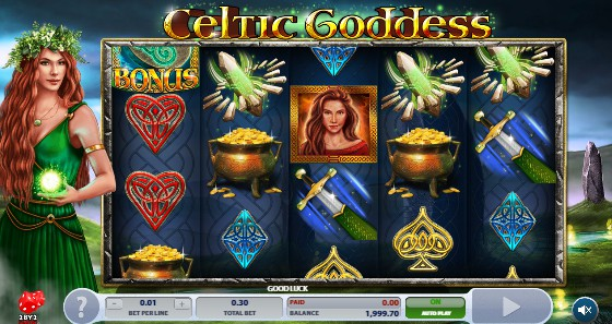 Celtic Goddess Casino Slots
