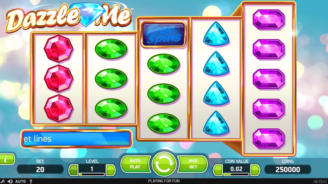 Dazzle Me Casino Slots