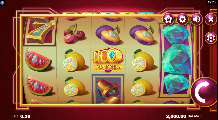 Deco Diamonds Casino Slots