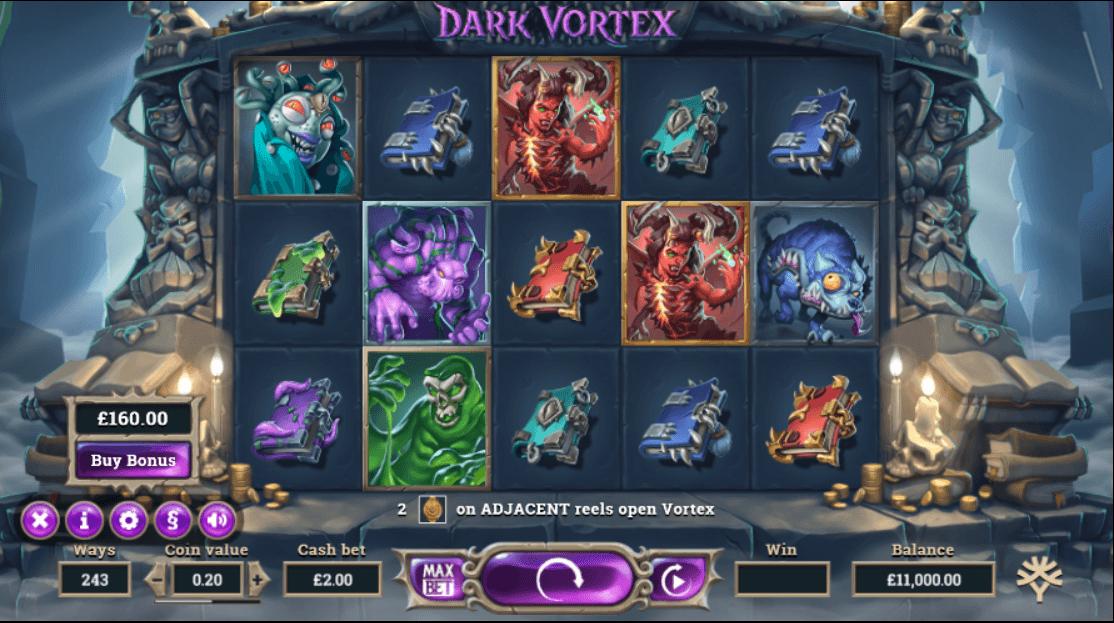 Dark Vortex slots casino