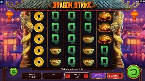 Dragon Strike Casino Slots