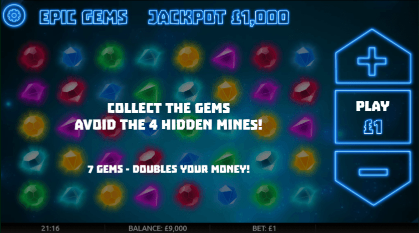 Epic Gems Casino Slots