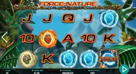 Force of Nature Casino Slots