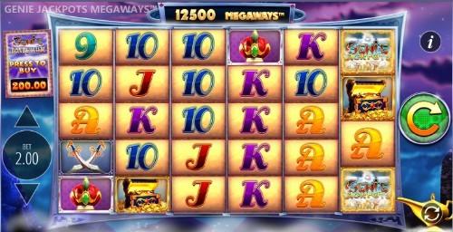Genie Jackpots Megaways Casino Slots