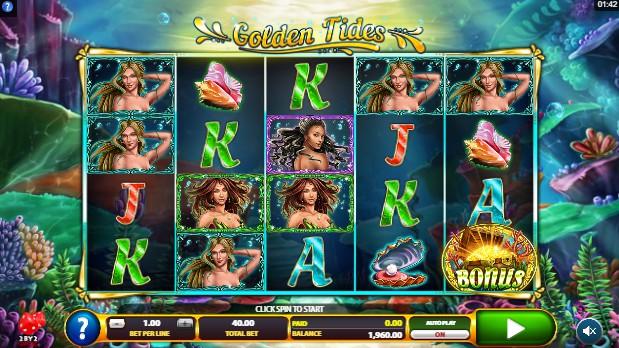Golden Tides Casino Slots