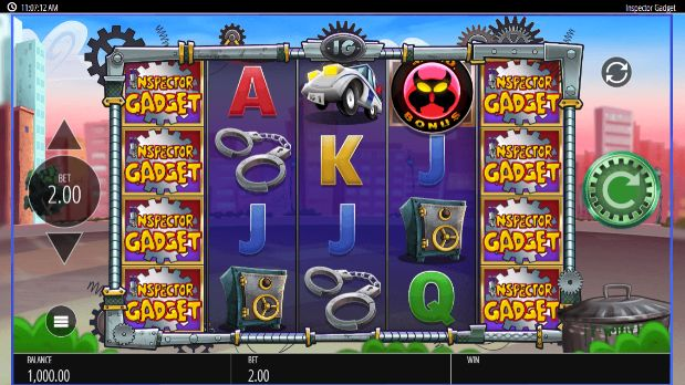 Inspector Gadget Casino Slots
