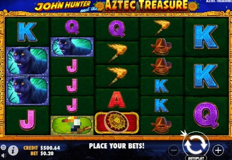 John Hunter and the Aztec Treasure Casino Slots