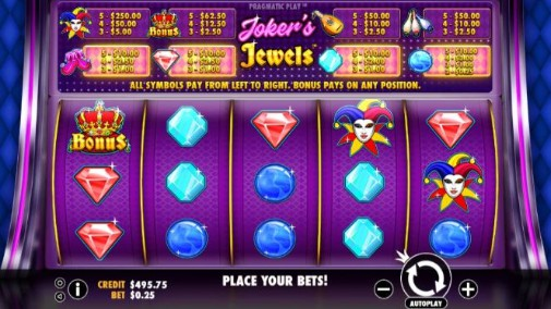 Jokers & Jewels Slot