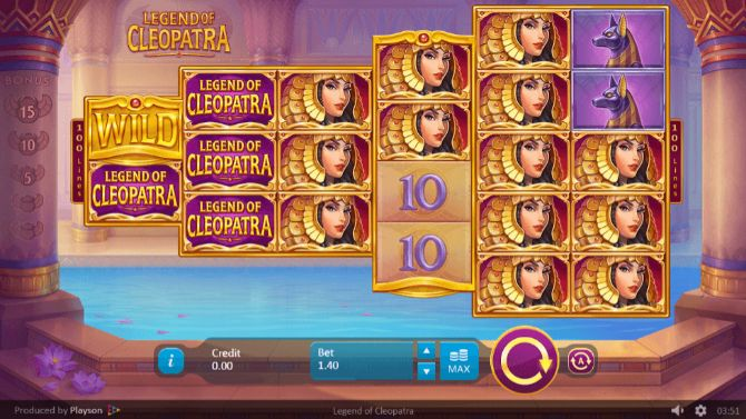 Legends of Cleopatra Casino Slots