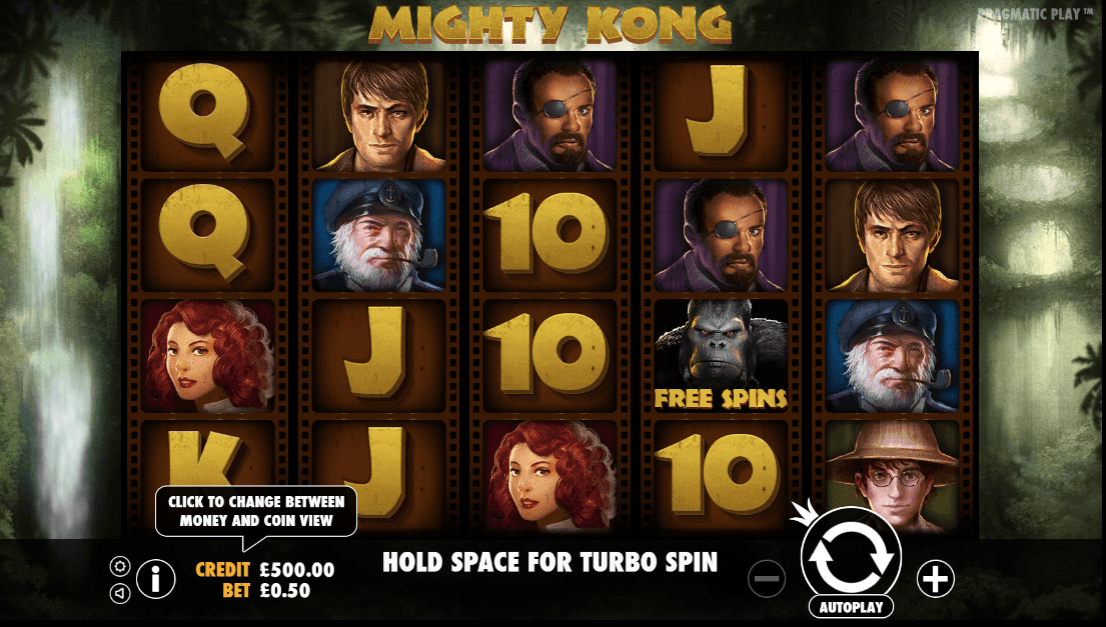 Mighty Kong Casino Slots