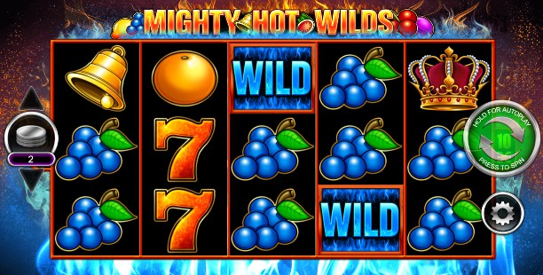 Mighty Hot Wilds Casino Slots
