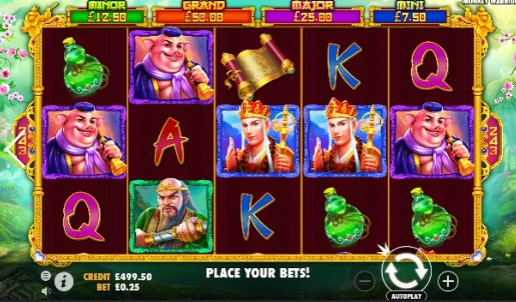 Monkey Warrior Casino Slots