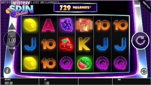 Mystery Spin Deluxe Megaways Casino Slots