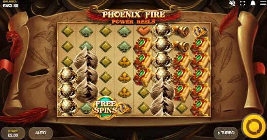 Phoenix Fire Power Reels Casino Slots
