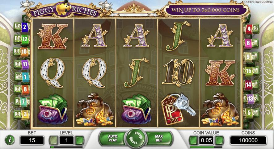 Piggy Riches Casino Slots