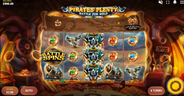 Pirates Plenty Battle for Gold Casino Slots