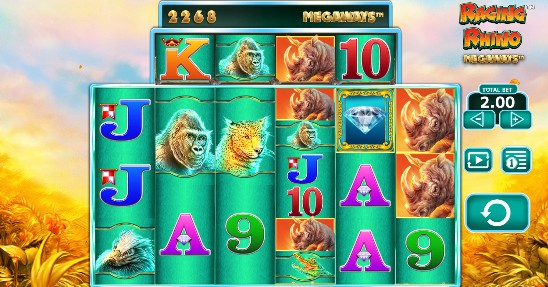 Raging Rhino Megaways Casino Slots