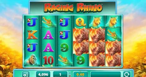 Raging Rhino Casino Slots