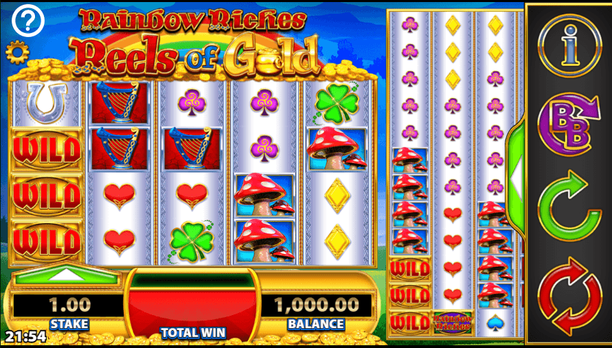 Rainbow Riches Reels of Gold Casino Slots
