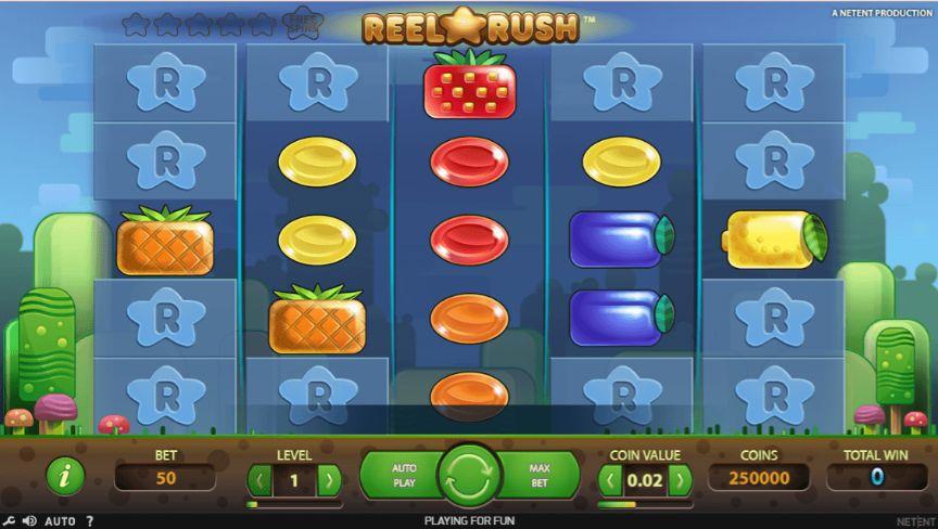 Reel Rush Casino Slots