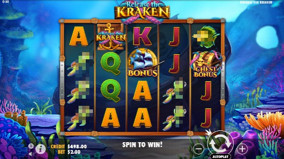Release the Kraken Casino Slots