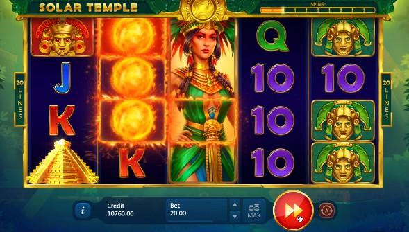 Solar Temple Casino Slots