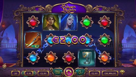 Sahara Nights Casino Slots