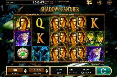 Shadow of the Panther Casino Slots