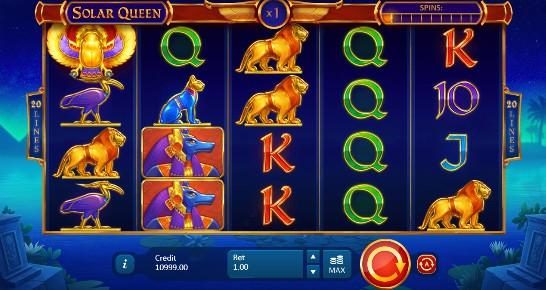 Solar Queen Casino Slots