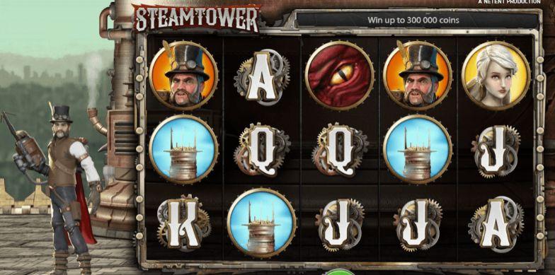 Steam Tower Casino Slots