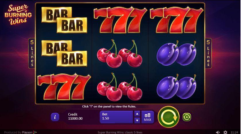 Super Burning Wins Casino Slots