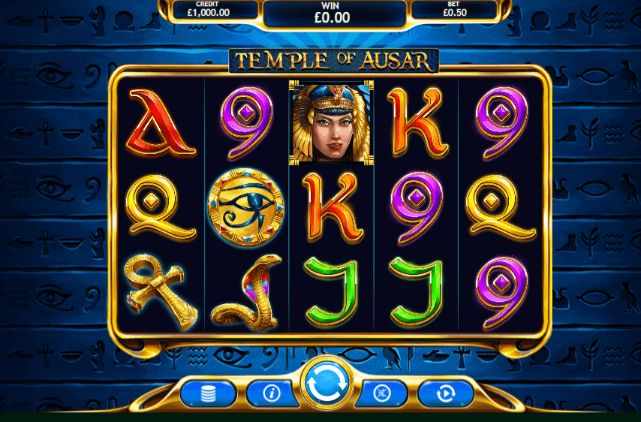 Temple of Ausar Casino Slots