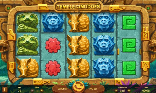 Temple of Nudges Casino Slots